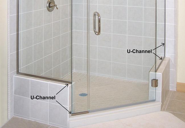 Dex Glass U Channel Crystal India